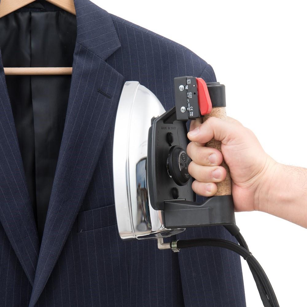 vertical steam ironing