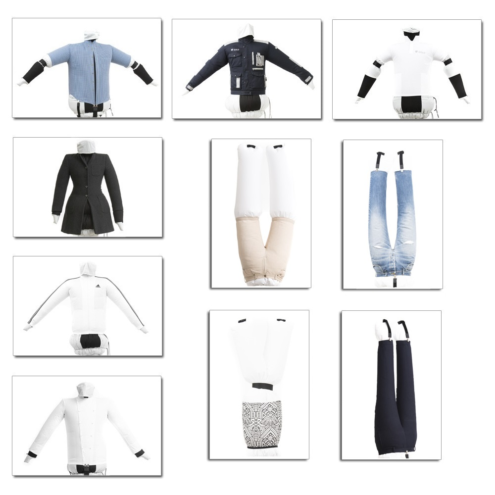 Ironinig and drying shirts  and pants